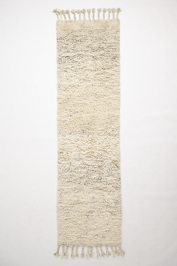 Slide View: 4: Fringed Flokati Rug