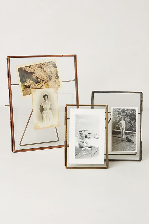 Pressed Glass Photo Frame | Anthropologie UK