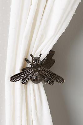 Slide View: 1: Queen Bee Tieback