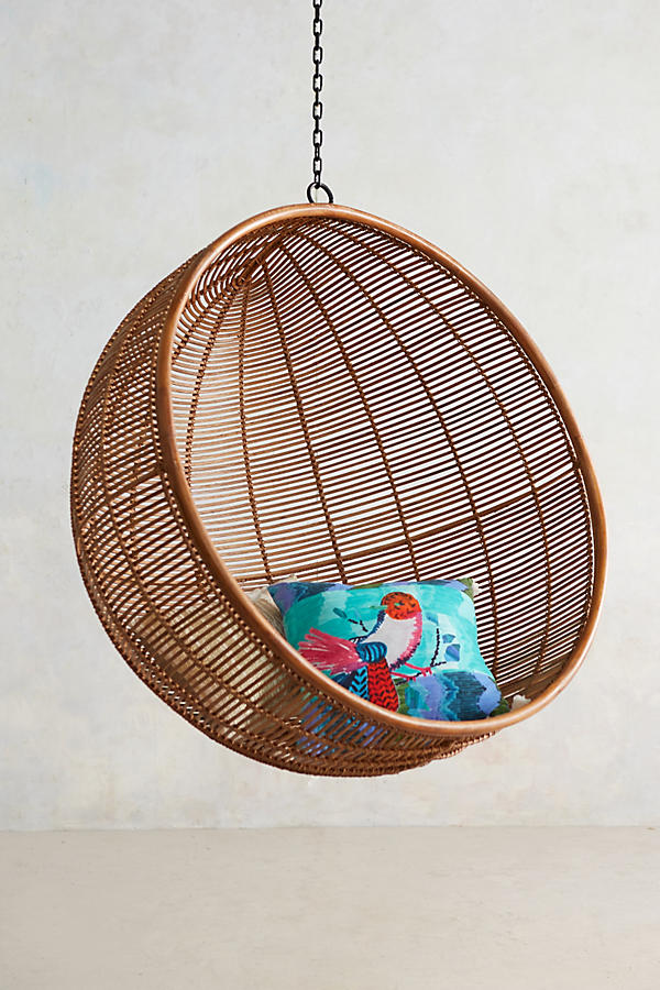 - Rattan Hanging Chair Anthropologie