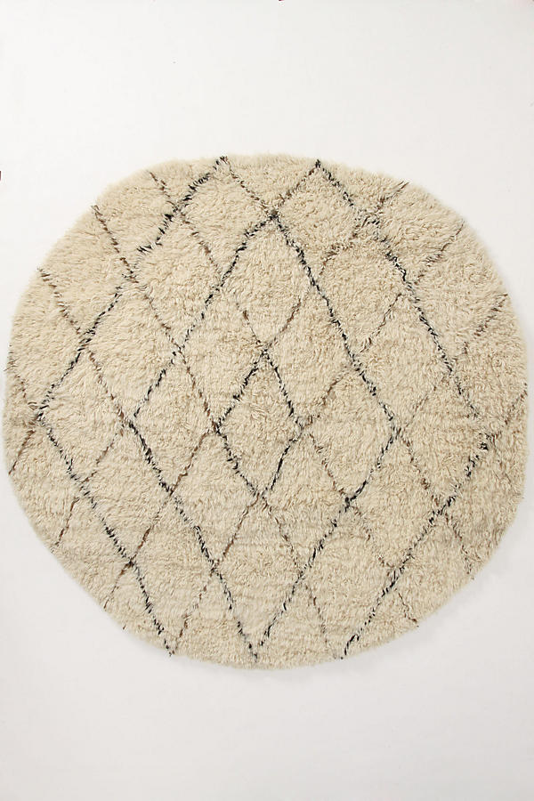 Slide View: 2: Amala Flokati Rug Swatch