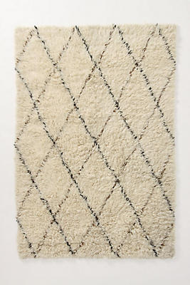 amala flokati rug | anthropologie