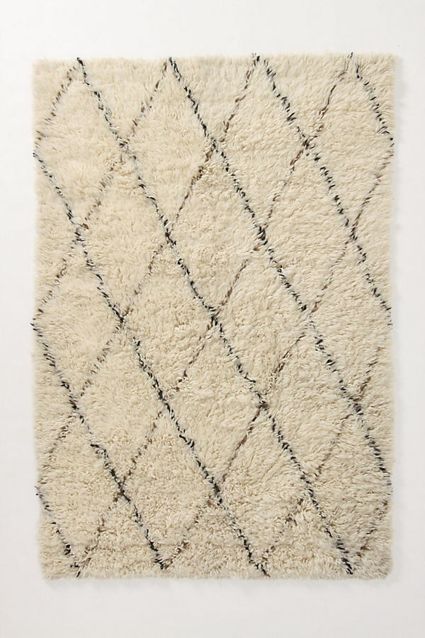 Slide View: 1: Amala Flokati Rug Swatch