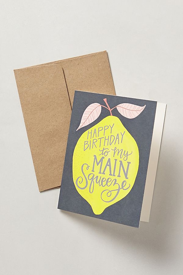 main squeeze birthday card anthropologie