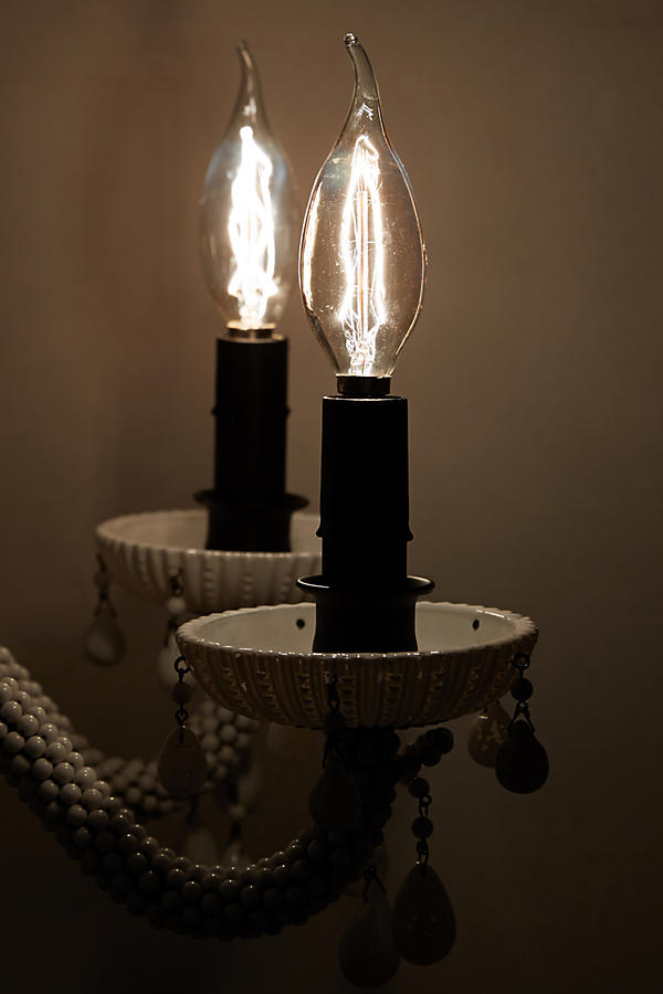 Slide View: 2: Flame Chandelier Bulb