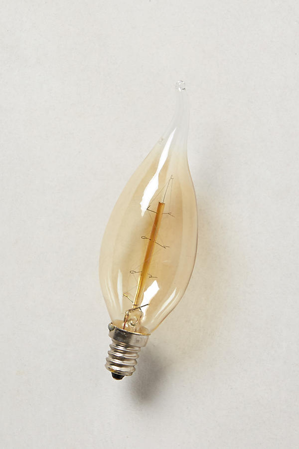 Slide View: 1: Flame Chandelier Bulb