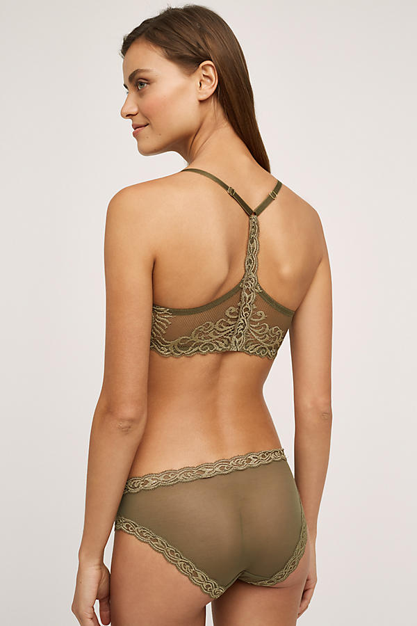 Slide View: 2: Natori Feathers Front-Close T-Back Bra