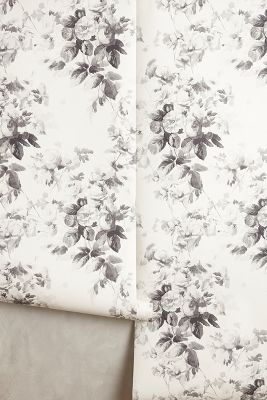 Smoky Rose Wallpaper Anthropologie