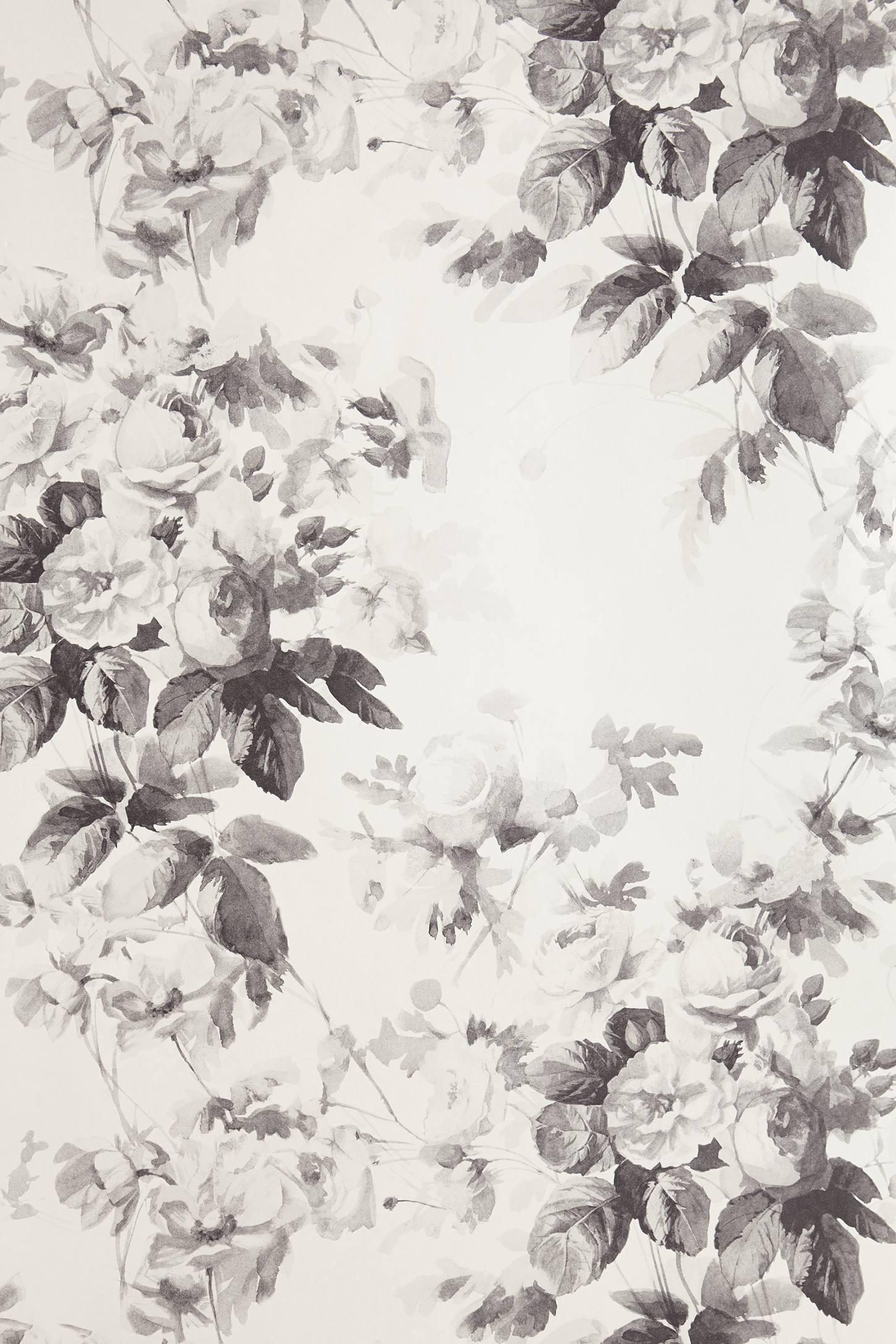 Smoky Rose Wallpaper Anthropologie
