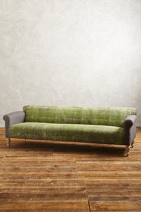 Dhurrie Sofa - Green