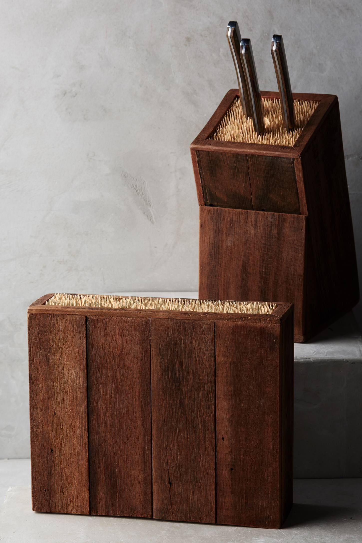Slide View: 5: Bamboo Knife Block