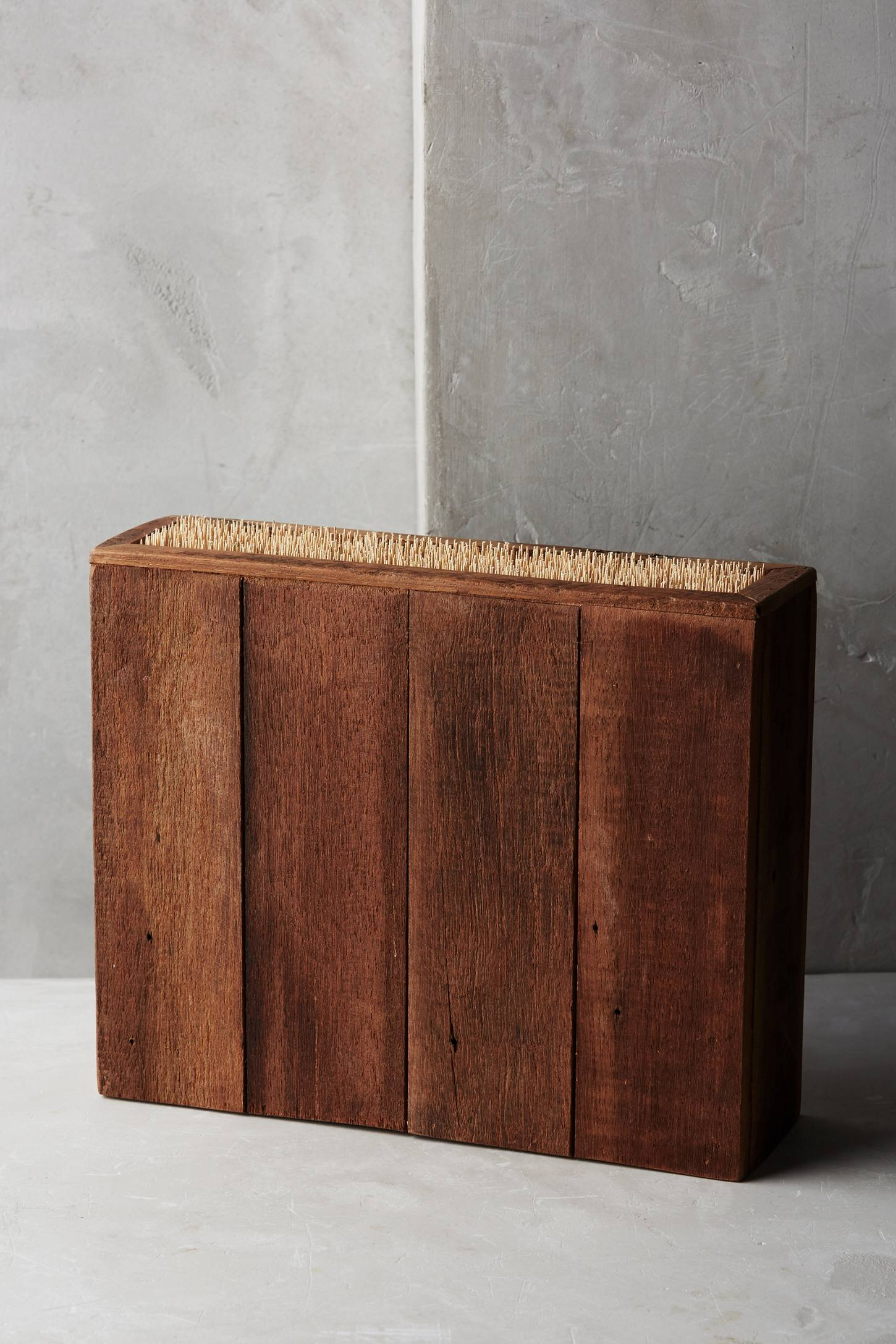 Slide View: 1: Bamboo Knife Block