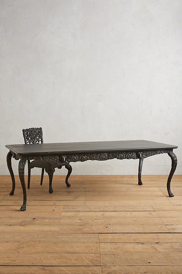 Handcarved Menagerie Dining Table
