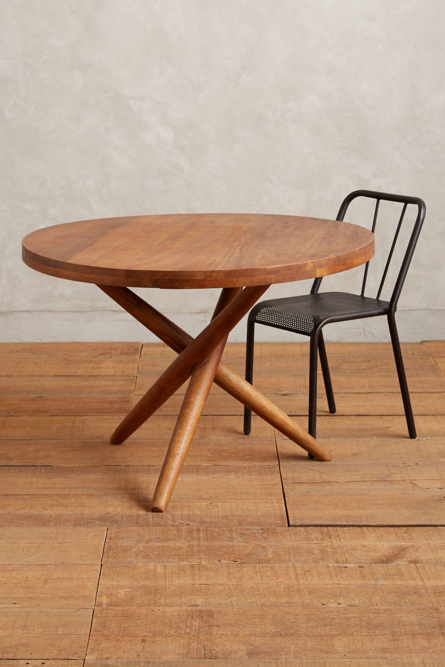 elliptic dining table anthropologie