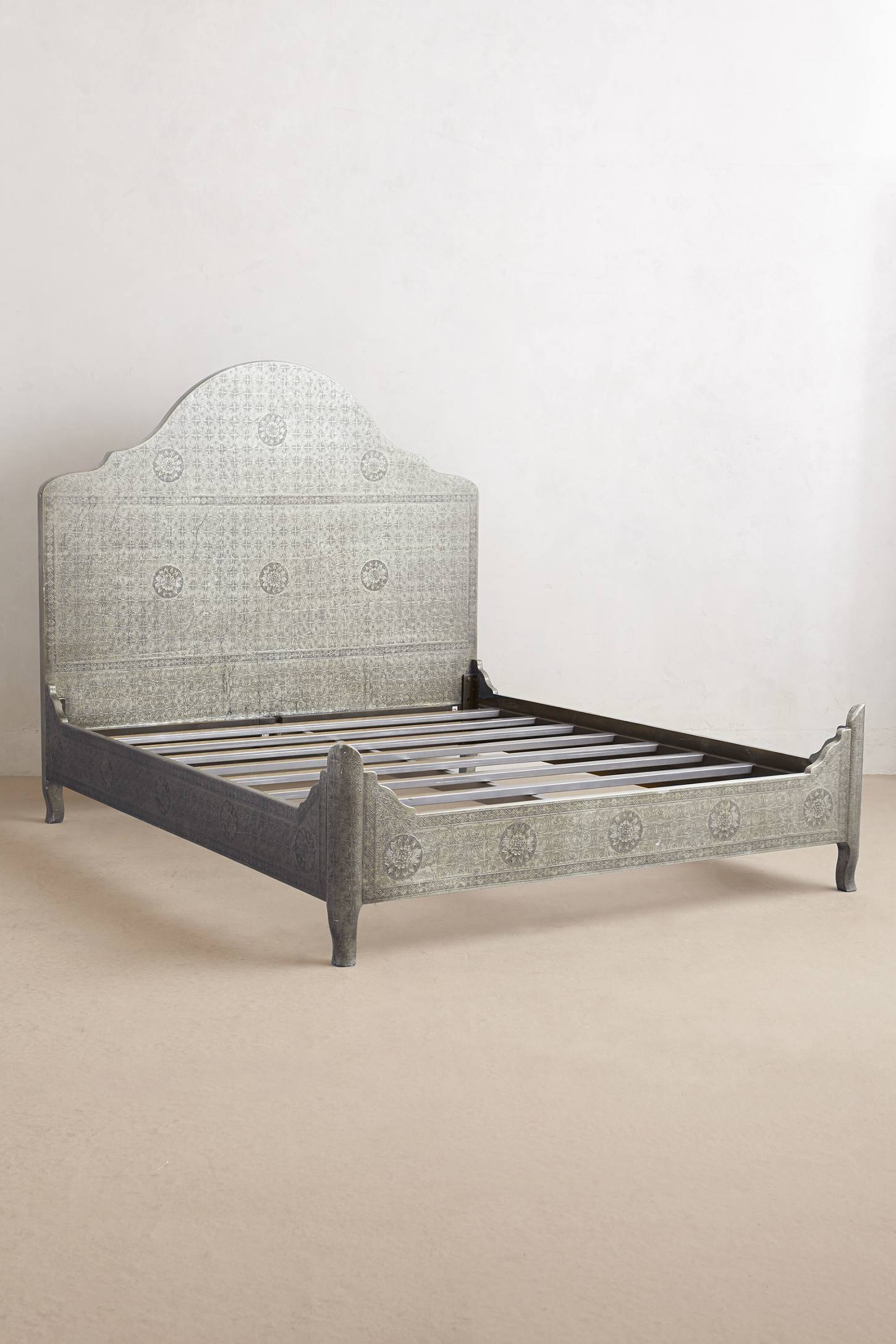Slide View: 2: Hand-Embossed Bed