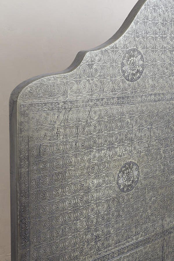 Slide View: 4: Hand-Embossed Bed