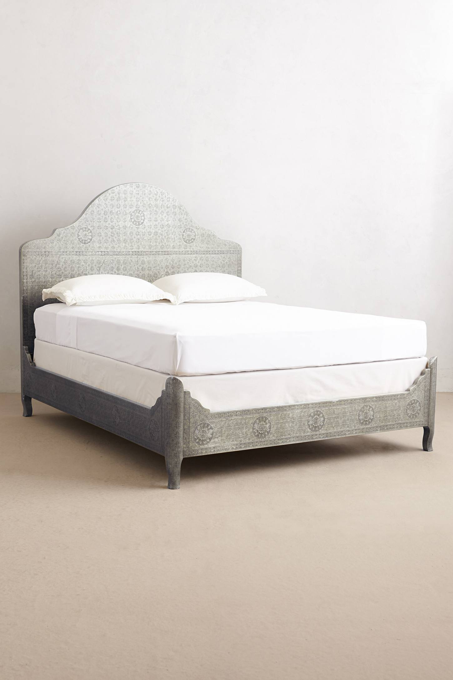 Slide View: 1: Hand-Embossed Bed