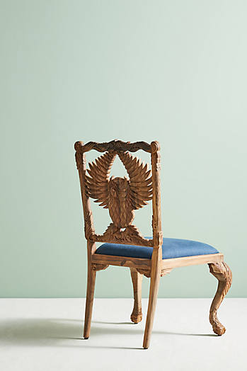 Slide View: 4: Handcarved Menagerie Armchair