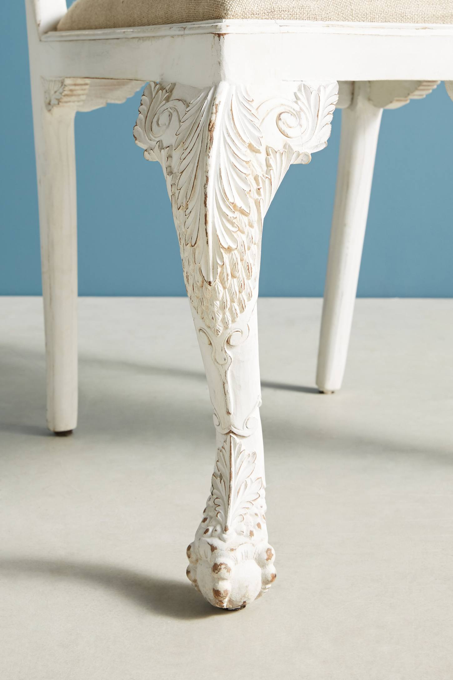 Slide View: 7: Handcarved Menagerie Woodpecker Dining Chair