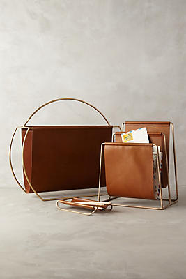 Slide View: 2: Saddle Ring Desk Collection