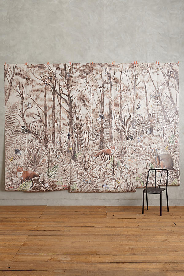 Tree whisper mural anthropologie for Anthropologie mural
