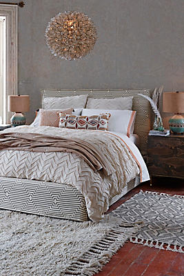 Textured Chevron Duvet