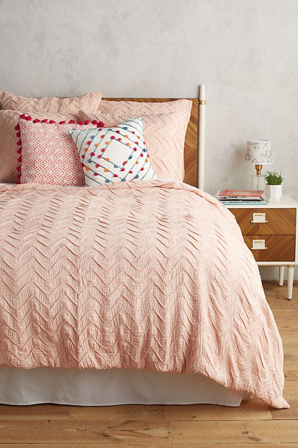 linens linen bed pin for textured shams ripple west covers and guest cover master texture bedroom duvet