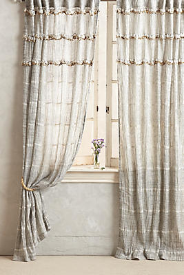 Slide View: 1: Graduated Tassel Curtain