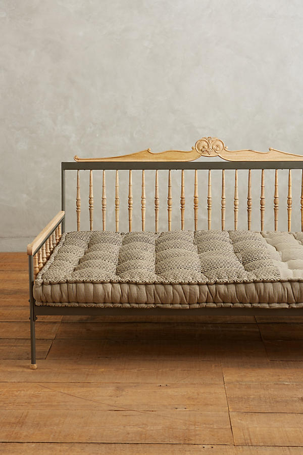 Slide View: 2: Valpo Twin Daybed Mattress, Sepia