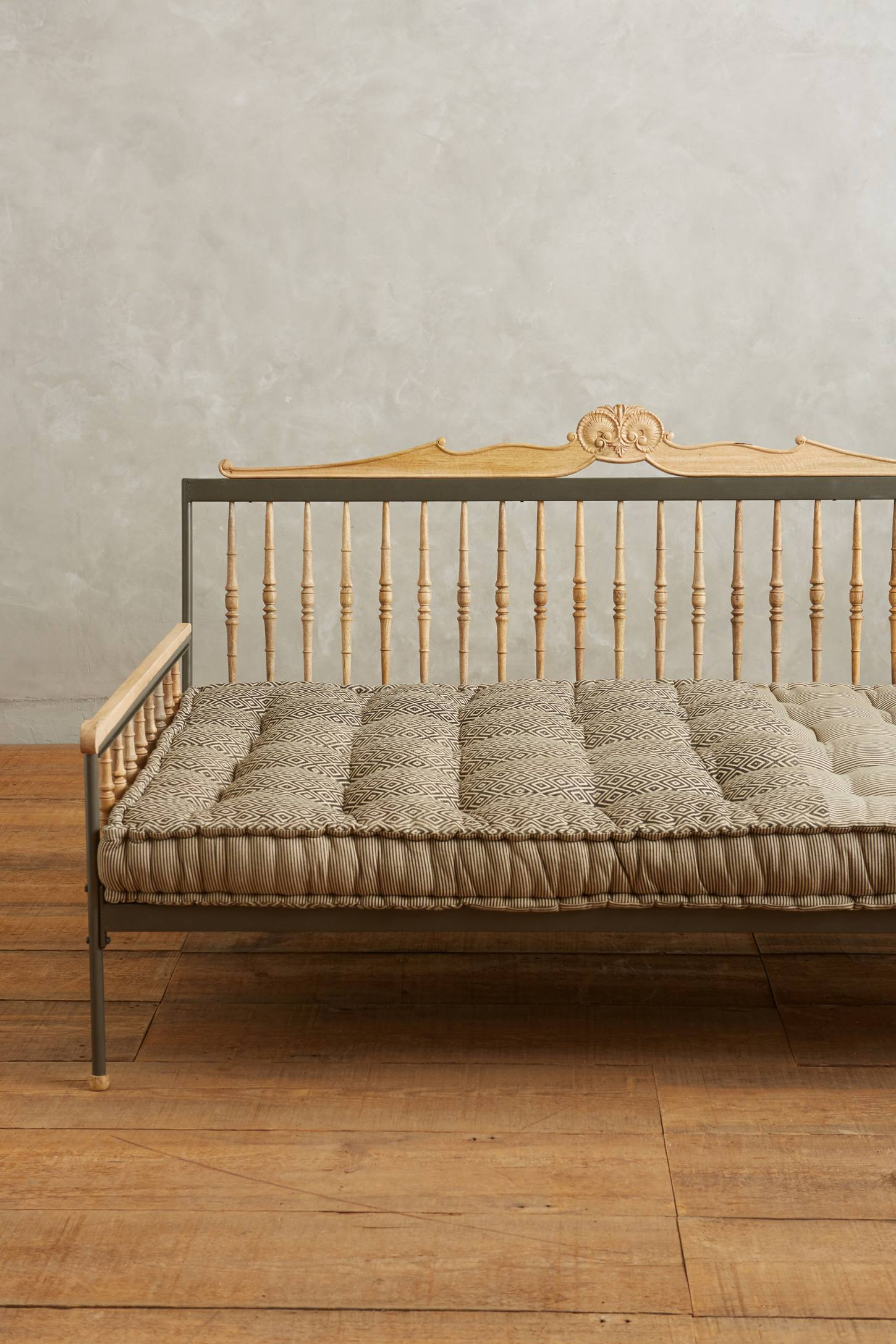 valpo twin daybed mattress sepia anthropologie. Black Bedroom Furniture Sets. Home Design Ideas