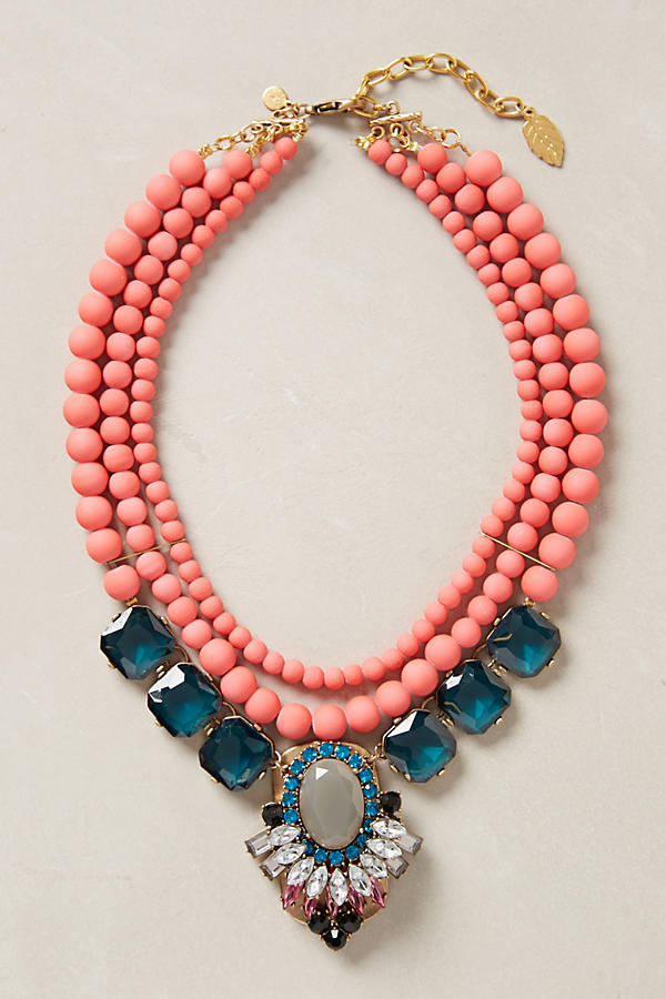 Gallica Bib Necklace