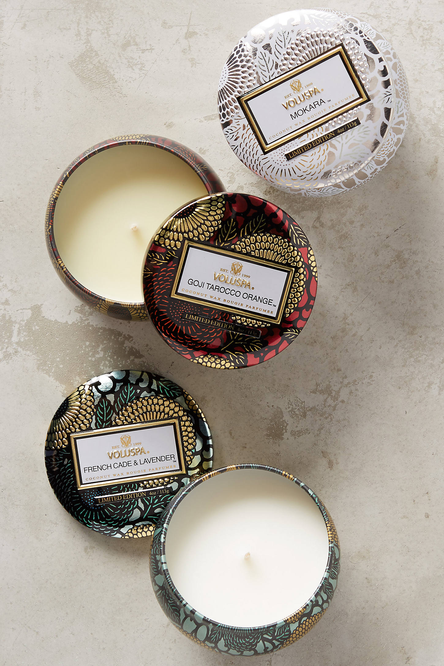 Voluspa Limited Edition Japonica Mini Candle Set