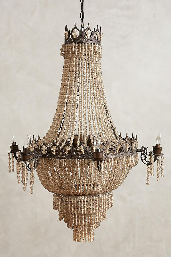Tea empire chandelier anthropologie tap image to zoom aloadofball Choice Image