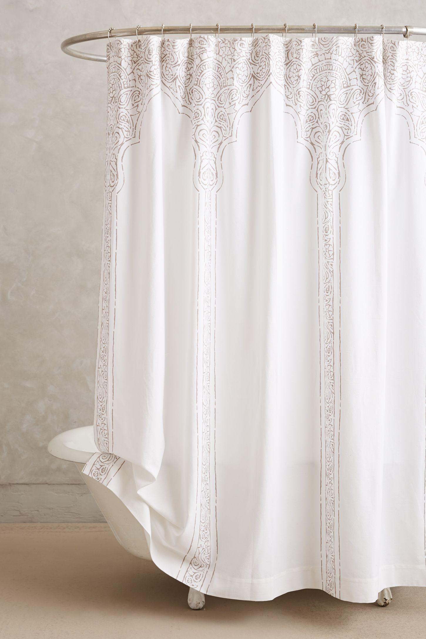 Anthropologie floral shower curtain - Anthropologie Floral Shower Curtain 43