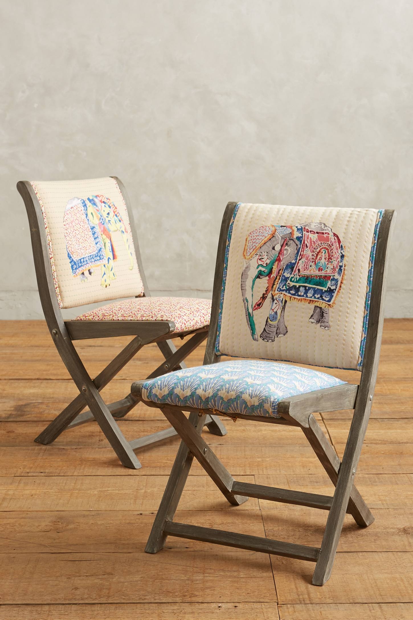 Slide View: 4: Elephant Terai Folding Chair
