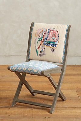 Slide View: 1: Elephant Terai Folding Chair