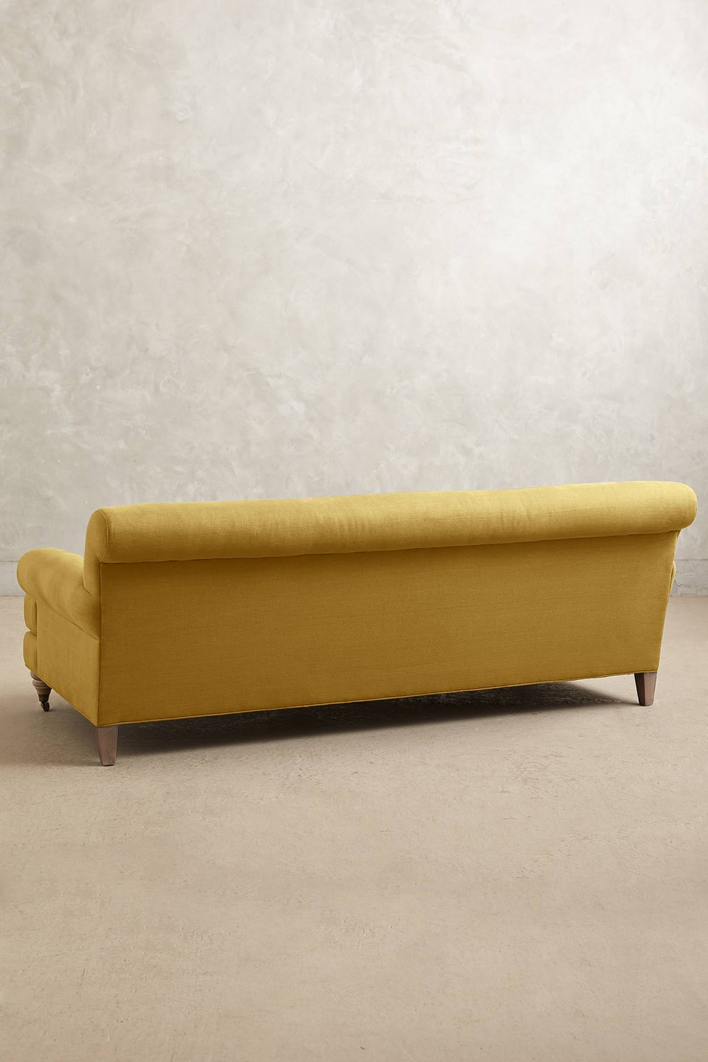 Slide View: 2: Linen Willoughby Sofa, Wilcox