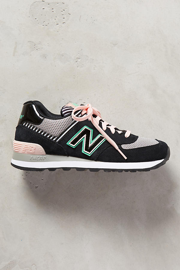 Slide View: 2: New Balance WL 574 Sneakers