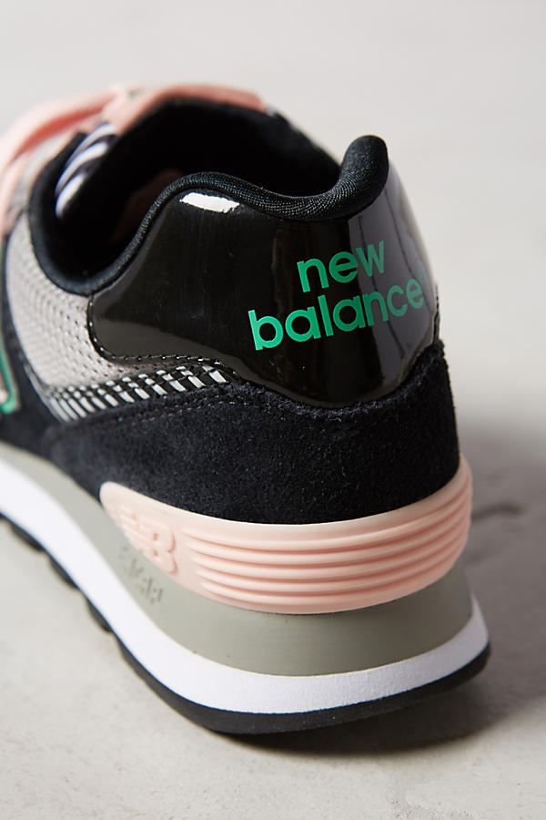 Slide View: 5: New Balance WL 574 Sneakers
