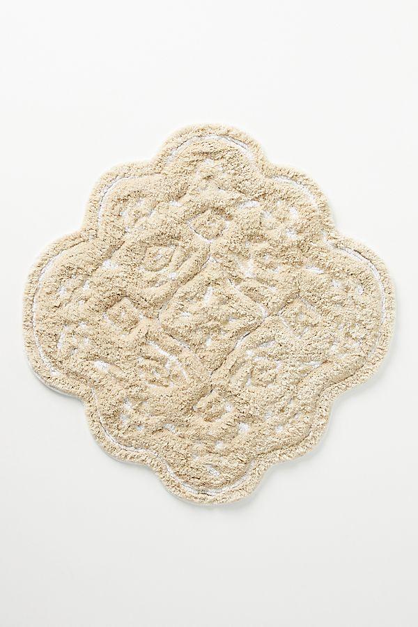 Slide View: 1: Mosaic Tile Bath Mat