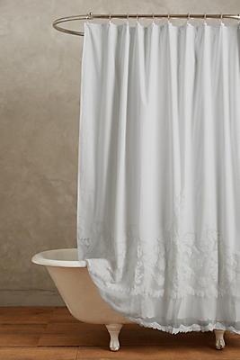 Caprice Shower Curtain Anthropologie