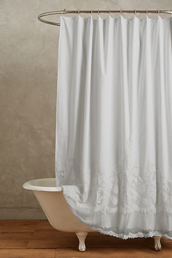 Grey - Unique & Boho Shower Curtains & Liners | Anthropologie