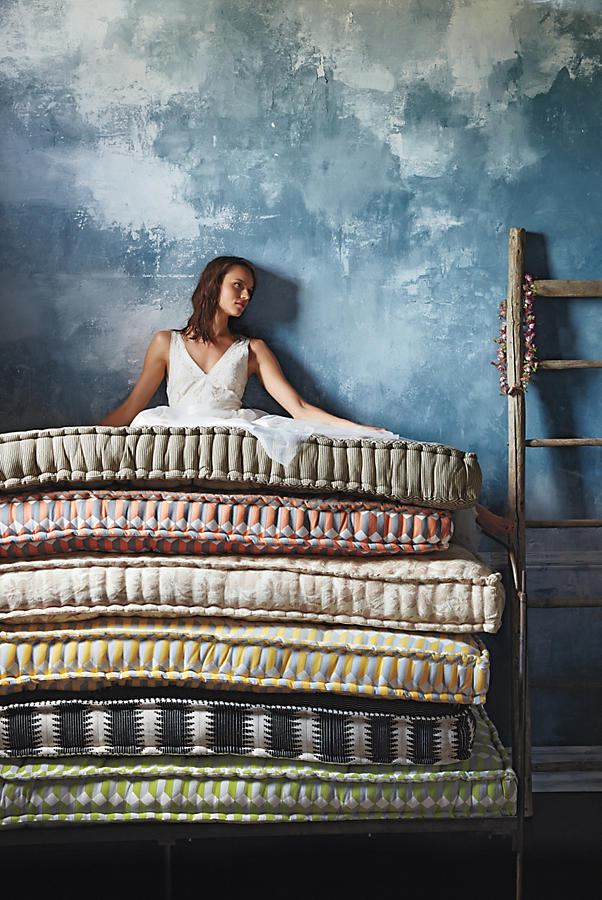 Slide View: 4: Valpo Twin Daybed Mattress, Striped