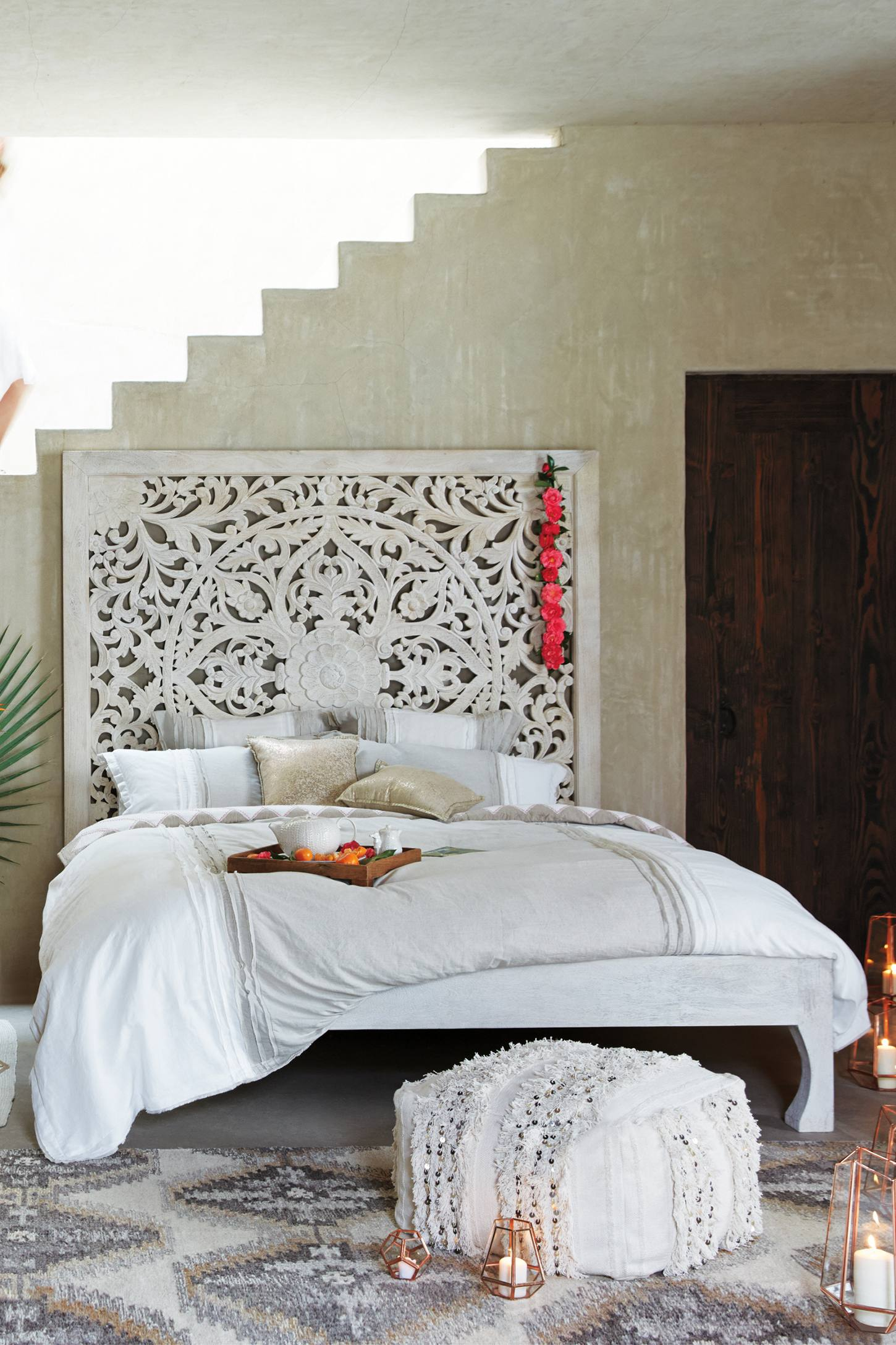 lombok bed anthropologie. Black Bedroom Furniture Sets. Home Design Ideas