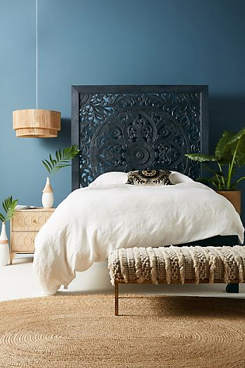 impactful wooden boho bed frame patterns
