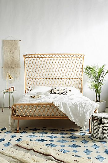 Beige - Bohemian Bed Frames & Unique Headboards | Anthropologie
