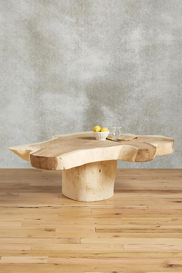 - Live-Edge Coffee Table Anthropologie