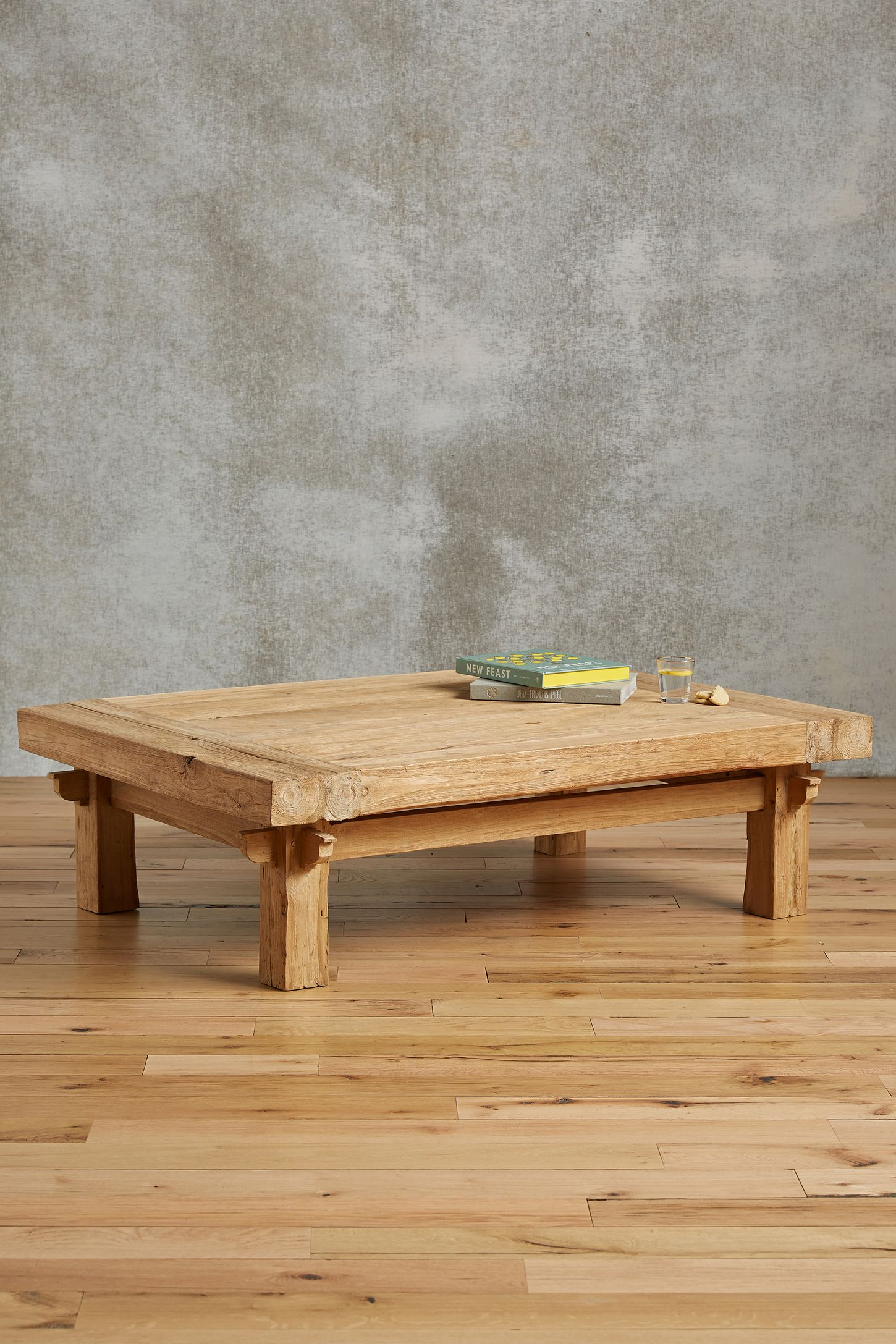Wide Plank Coffee Table