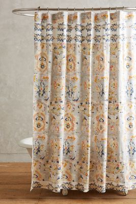 Curtains Ideas anthropology shower curtain : Orissa Shower Curtain | Anthropologie