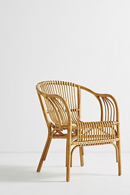 pari rattan chair | anthropologie